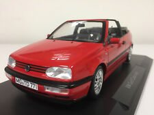 Norev Volkswagen Golf Cabriolet 1995 Red 1/18 188433 1