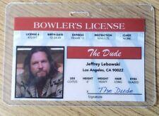 The Big Lebowski Identification Badge-The Dude Jeffery Lebowski Costume Cosplay