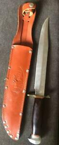 VINTAGE ARKANSAS TOOTHPICK KNIFE FIST WITH ARROWS  SOLINGEN GERMANY