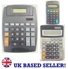 8-Digit Small Medium Large Display LCD Dual Power Calculator Home Office Work