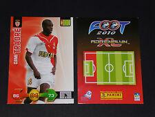 DJIMI TRAORE AS MONACO LOUIS II PANINI FOOTBALL ADRENALYN CARD 2009-2010
