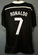 YAMAMOTO PLAYER ISSUE REAL MADRID 2014/15 RONALDO SOCCER FOOTBALL SHIRT SIZE L