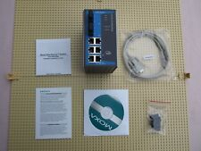 MOXA industrial Ethernet Switch eds-508a-mm-sc 8 PORTE UTP Fiber Optic NEW