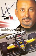 2007 Bobby Rahal signed Rlr Indianapolis 500 Photo Card Postcard Indy Car miller