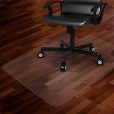 """36"""" X 48"""" Office/Home Hard Floor Protector Computer Desk Floor Mat PVC"""