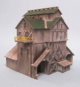 """Blair Line - Cash Mine Works Ore House -- Kit -  7-1/2 x 8-1/2"""" - HO"""