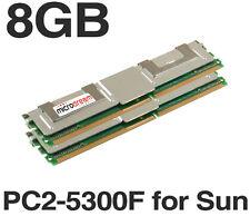 8GB (2x4GB) MT36GTF51272FY-667E2D6 DDR2 1.5V PC2-5300F for Sun