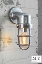 Industrial Chrome Wall Light - Tristan