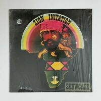 ZION INITATION Showcase 008054X LP Vinyl VG++ Cover Shrink 1979 Roots Reggae Dub