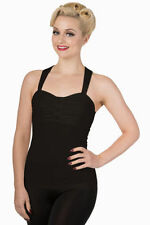 Patternless Rockabilly Tops & Shirts for Women