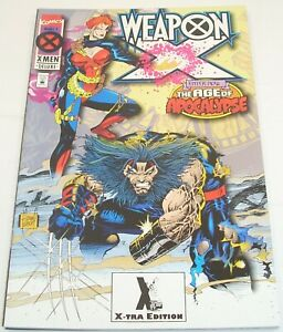 Marvel Comics WEAPON X 1-4 (of 4) Complete Series 95 Age of Apocalypse Wolverine