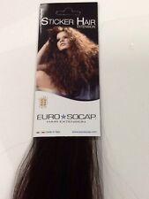 Euro So Cap Tape Hair Extensions - Brown (#4)