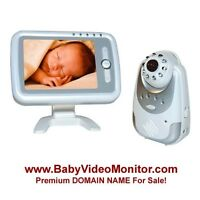 Baby Video Monitor - Premium Baby DOMAIN NAME For Sale!