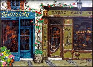 """Viktor Shvaiko """"Cafe Tabac"""" Les Bijoux de Paris Suite /The Jewel Collection HS"""
