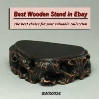 Hard Wood Stand For Netsuke & Carving Display (WS0024)