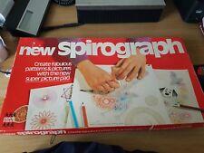 Vintage Raro Denys 1973 Fisher Nueva Spirograph casi completo ver listado