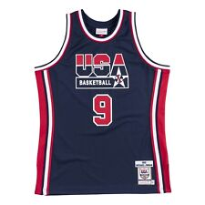 Men's Team USA Michael Jordan Mitchell Ness Navy 1992 Olympics Dream Team Jersey