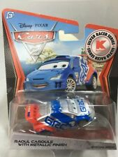 2012 Disney Pixar CARS 2: RAOUL CAROULE WITH METALLIC FINISH Kmart Silver Racer