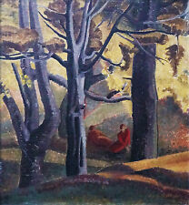 GENE ASHTON (1915-?) RARE Oil 1937 Modern Grace Cossington Smith Dorrit Black