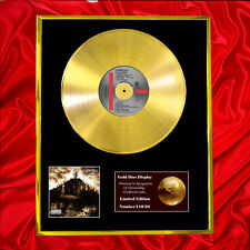 CYPRESS HILL BLACK SUNDAY CD GOLD DISC RECORD FREE P&P!