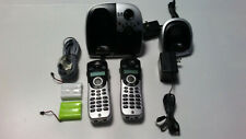 GE 5.8 GHz Cordless Phone with Digital Messaging System Model 25861GE3-B