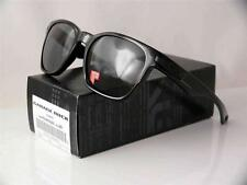 OAKLEY POLARIZED GARAGE ROCK POLISHED BLACK FRAME GREY LENSES 009175-07 NEW LAST