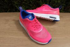 NIKE AIR MAX THEA LADIES PINK & BLUE LIGHTWEIGHT TRAINERS SIZE UK 4 EUR 37.5