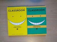 Assassination Classroom 1-2, Lot of 2 Seinen Manga, English, 16+, Yusei Matsui