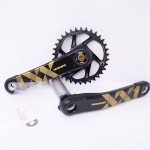 SRAM XX1 Eagle DUB X-SYNC2 MTB Bike Crankset Direct 175mm 34T 12 Spd w/oBB Gold