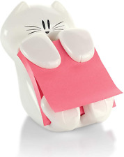 """Post-it Pop-up Note Dispenser, Cat Design, Hold 3"""" x 3"""" Sticky Notes 45 Sheets"""