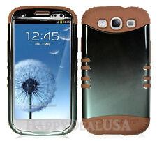 KoolKase Hybrid Silicone Cover Case for Samsung Galaxy S3 i9300 - Gray (TN)