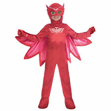 PJ Masks Owlette Deluxe Costume - Age 7-8 Years