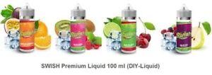 SWISH Premium, 100ml Liquid in einer 120ml Flasche, Shortfill E-Zigaretten