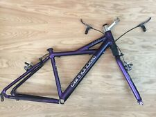 Cannondale F700 Small Purple Headshok Mountain Bike Frameset Made In USA