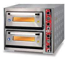 PF6262DE-T  GMG Pizzaofen Zweikammer 8x30er Pizzen Pizzabackofen Backofen