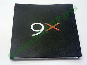 SAAB 9X Concept Car Book, English Ed, Rare & Unique. Genuine SAAB Publication.