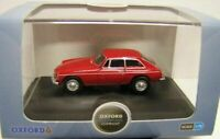 Model Car, MGB GT, Red, 1/76, New, Oxford, diecast,