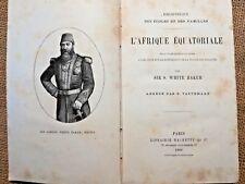 1880, RECIT EXPLORATION, L'Afrique Equatoriale, TRAITE DES ESCLAVES - 5353