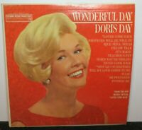 DORIS DAY WONDERFUL DAY (VG) XTV-82021 LP VINYL RECORD