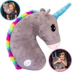 Unicorn Seat Belt Cover, Unicorn Seat Belt Pillow, Car Shoulder Pads For Kids