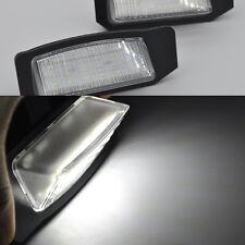 2x Bright White 18-LED License Plate Lights For Mitsubishi Outlander 2011-2017