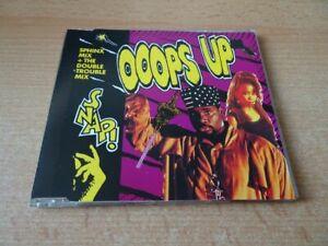 Maxi CD Snap - Ooops Up - Remixesy - Rare - 1990 incl. Sphinx Mix