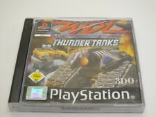 !!! PLAYSTATION PS1 SPIEL WDL Thunder Tanks TOP !!!