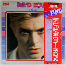1976 David Bowie Special SRA-9503-04 RCA Stereo Import Japan 2 LP