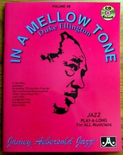 "DUKE ELLINGTON ""IN A MELLOW TONE"" - JAZZ - PARTITIONS + CD - Textes en Anglais"
