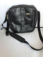 Vintage Samsonite 1910 Black Leather Bag