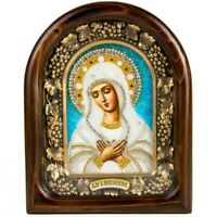 Virgin Mary of Tenderness Orthodox Icon Sanctified in Diveyevo, Russia UMILENIE