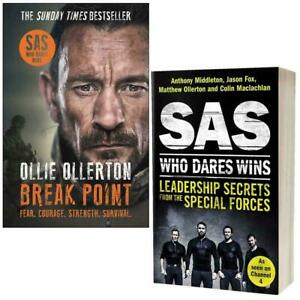Break Point By Ollie Ollerton & SAS Who Dares Wins Leadership Secrets from the S