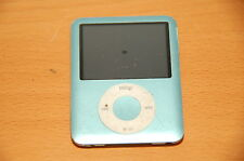 Apple iPod A1236 8Gb 3rd Generation Blue As-Is Works when plugged in