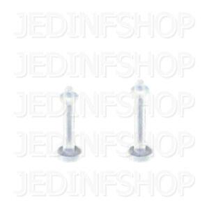Retainer Hider - Labret Lip Stud Monroe   1.0mm (18g) - 6mm   BioFlex - O-Ring
